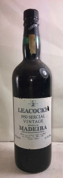 Madeira Sercial Vintage