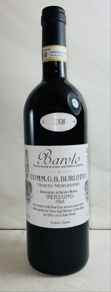 Barolo Monvigliero, Burlotto