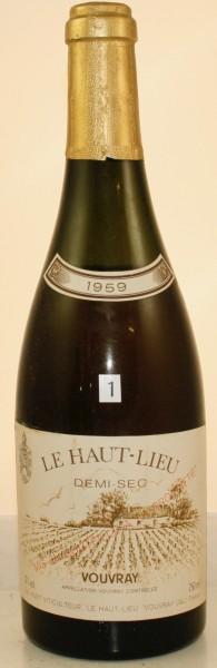 Flasche Nr. 1