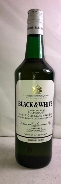 Black & White Whisky - 1970s bottling