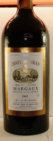 Château Siran, 4,5 l.