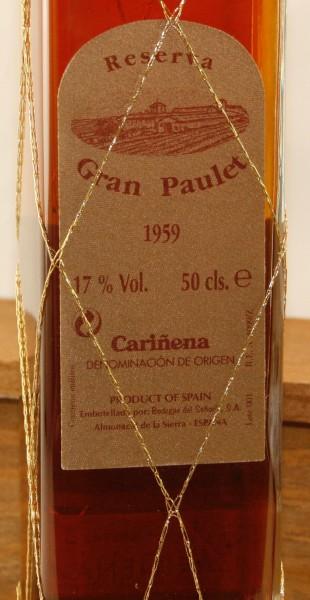 Gran Paulet Carinena, 0,5 l.