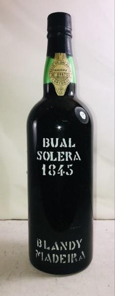 Madeira Bual Solera, Blandy