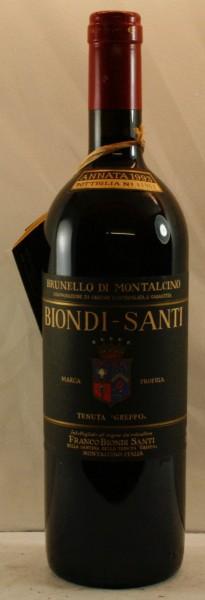 """Biondi Santi Tenuta """"Greppo"""" Annata, Brunello di Montalcino"""