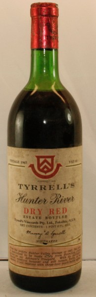 Tyrrell´s Hunter River Dry Red, Vat 61