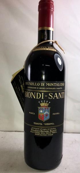"""Biondi Santi Tenuta """"Greppo"""" Riserva, Brunello di Montalcino"""