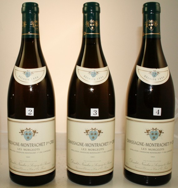 Chassagne Montrachet Les Morgeots, Doudet-Naudin