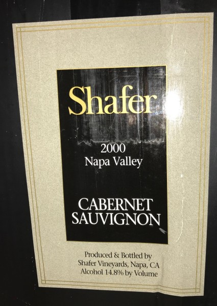 Shafer Cabernet Sauvignon