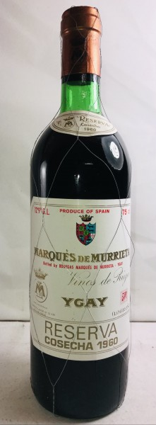 Marques de Murrieta Ygay Reserva