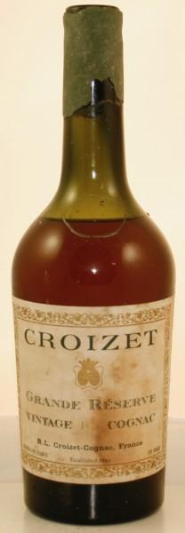 Croizet Grande Reserve Cognac - Front