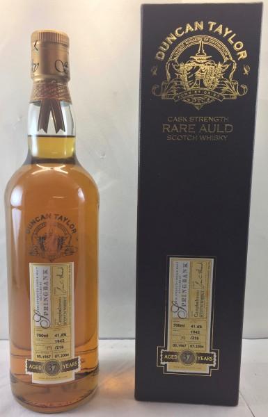 Springbank Single Malt Whisky