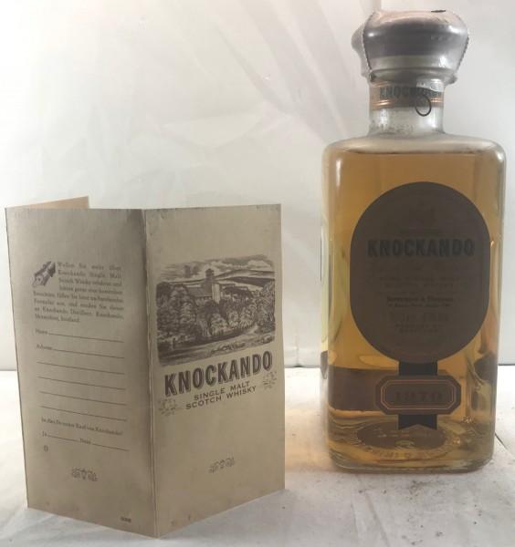 Knockando Single Malt Whisky