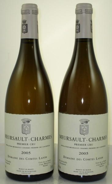 Meursault, Les Charmes