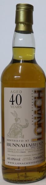Bunnahabhain 40 Years old, Lonach Whisky Co.